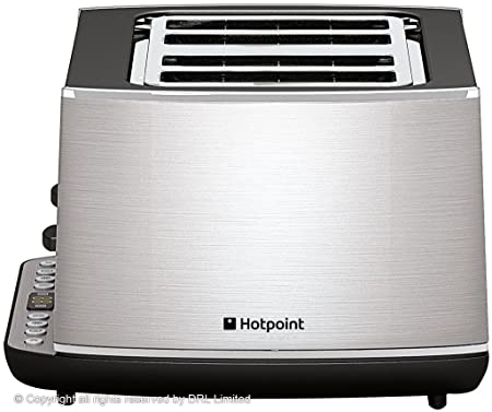 Hotpoint UK HD Line Toaster, 1800 W, INOX