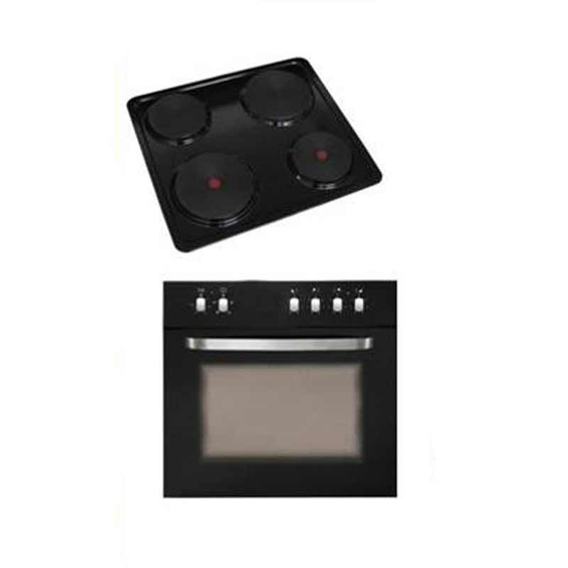 Kelvinator - 60cm Under Counter Oven Hob Combo
