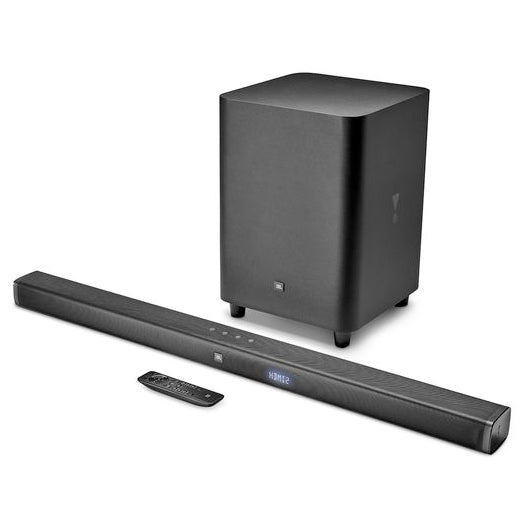 JBL Bar 3.1 4K Ultra HD Soundbar With Wireless Subwoofer with free T450BT Headphones