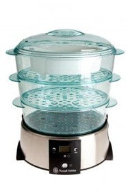 Russell Hobbs 3-Tier Satin Quartz Steamer 10969