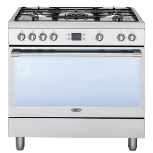 Defy DGS162 5 Burner Stainless Steel Gas Electric Stove