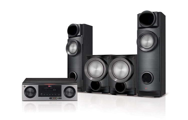 LG ARX5500 Home Theatre System - 800W, 2.2ch - with Blu Ray DVD Player