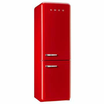 SMEG FAB32RRN1 - 304L Red Retro Fridge/Freezer