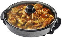 Pineware PFP40 - Round Electric Frying Pan - 40cm