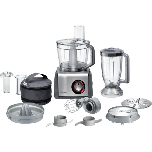 Bosch MCM68840 Food Processor 1250 Watt Colour of body dark grey / brushed stainless steel