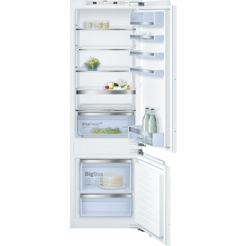 Bosch Serie | 6 KIS87AF30 SmartCool Built-in fridge freezer, bottom freezer