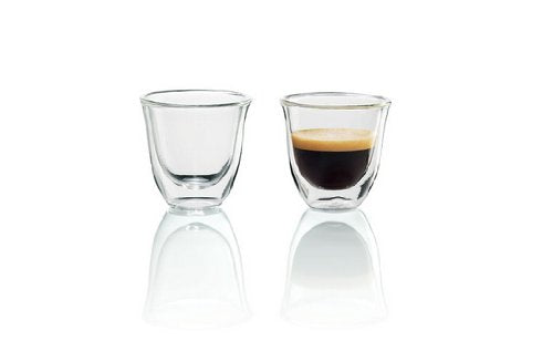 DeLonghi Double Walled Thermo Espresso Glasses