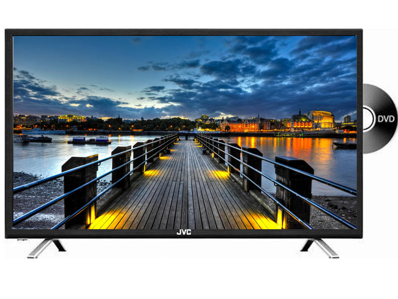 JVC 32 Inch HD LED TV with Built-In DVD Player (LT-32ND35) – Liv ... 8378101868