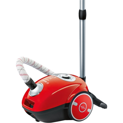 Bosch Canister vacuum cleaner bagged BGL35MOV25 flaming red  MoveOn 2400W Hepa