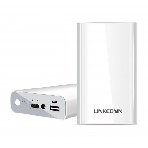 LINKCOMN 10400MAH POWER BANK WHT