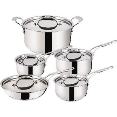 Tefal Jamie Oliver - Stainless Steel Copper Star (10 Piece Set)