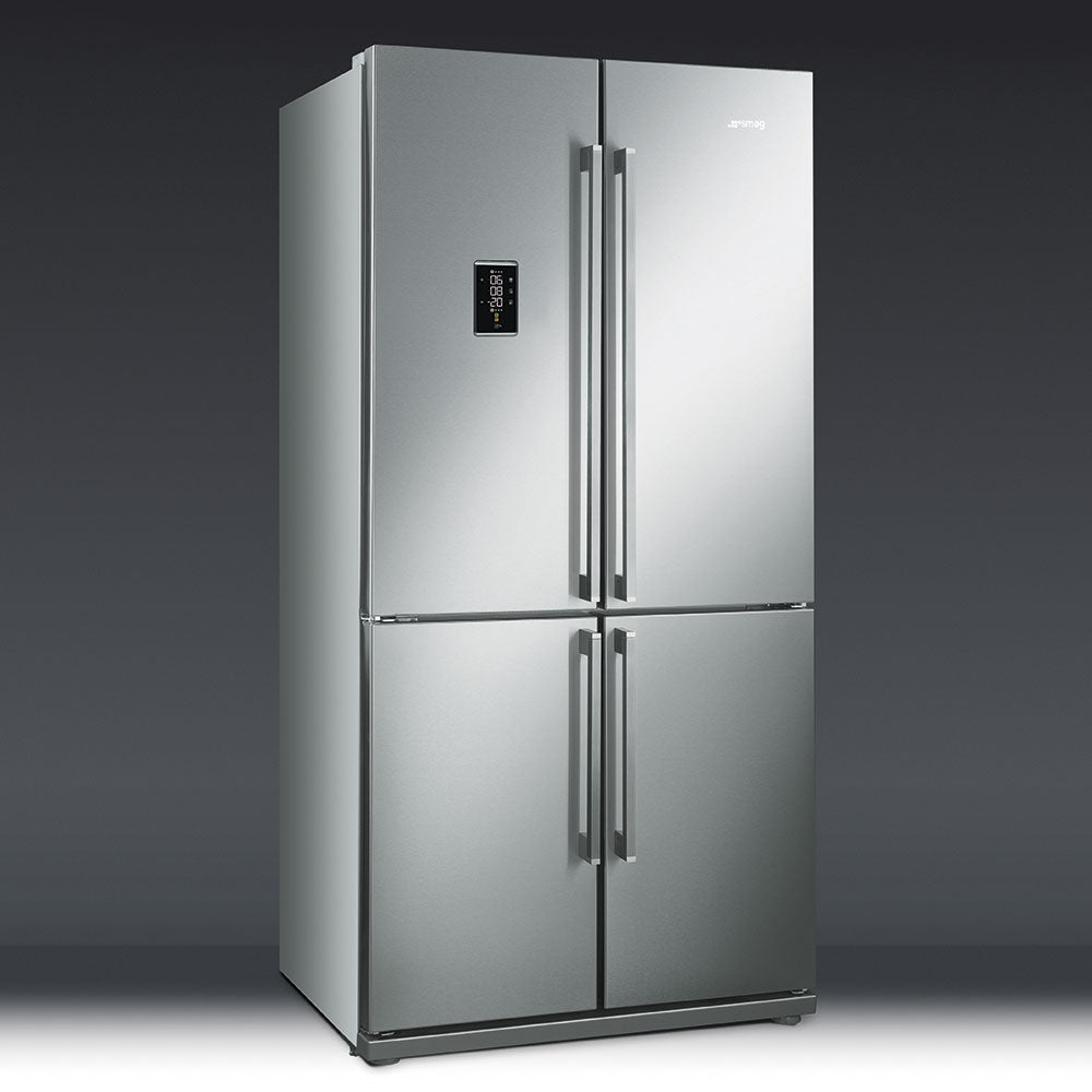 SMEG - 90cm Stainless Steel 4 Door Combination Fridge Freezer