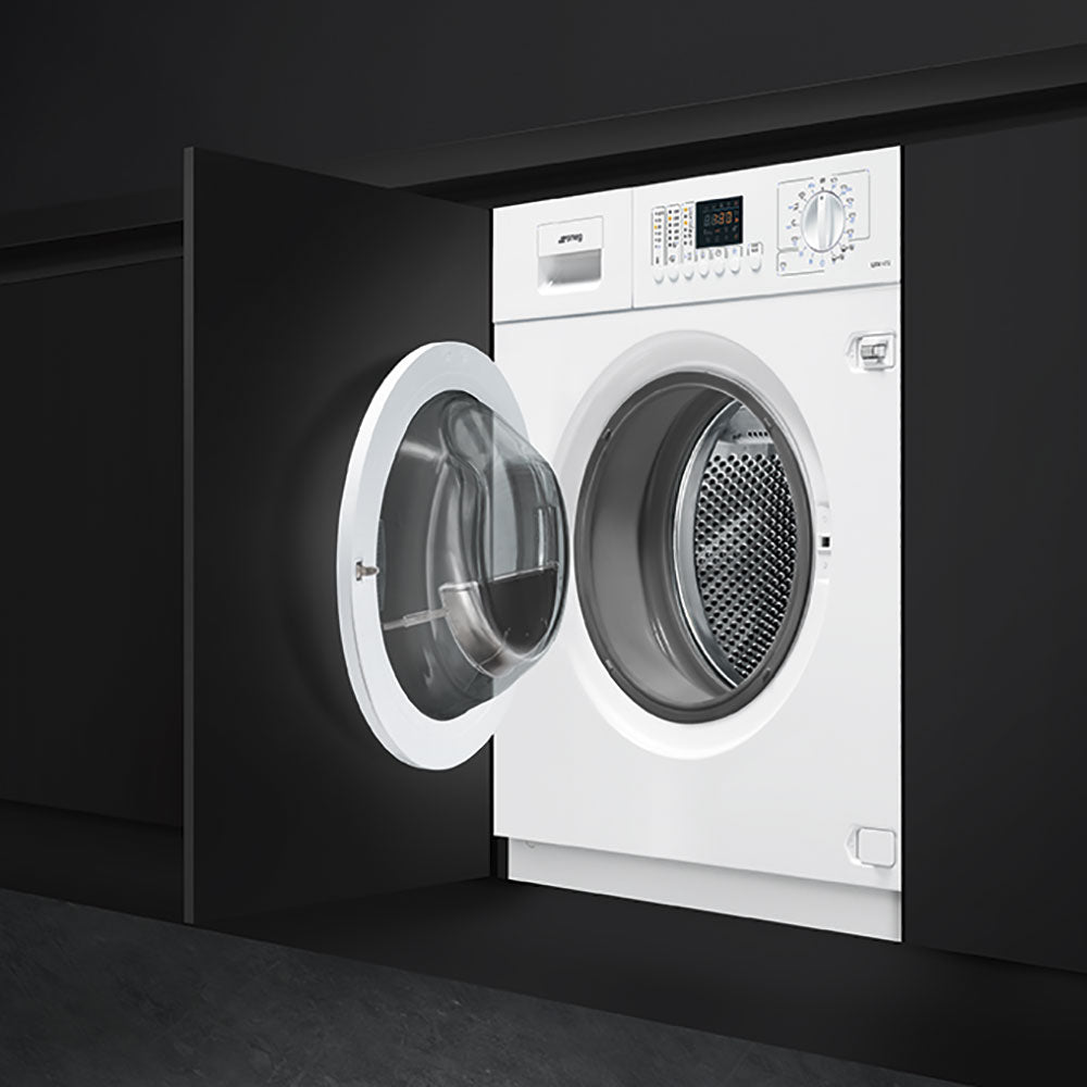 SMEG - 60cm Full Integrated Washer Dryer