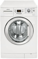 SMEG - 60cm Silver Freestanding Washing Machine