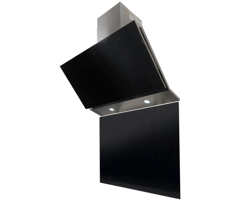 SB-BG60 Falco Black glass 60cm splash back