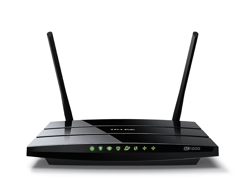 TP-LINK - AC1200 Wireless Dual Band Gigabit Router