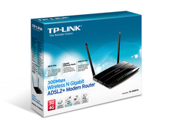 TP-KLINK - 300Mbps Wireless N Gigabit ADSL2+ Modem Router