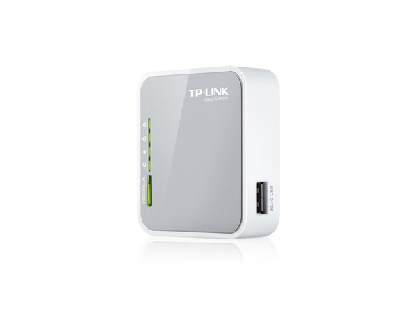 TP-LINK - Portable 3G/4G Wireless N Router TL-MR3020