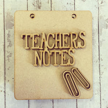 ST001 - MDF Sticky Pad Holder Teachers Notes