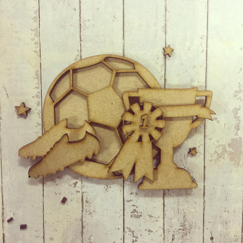 SJ007 - MDF Football Themed Kit