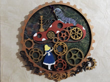 BD009 - MDF Alice in Wonderland Bonnita Doodles Design - Steampunk Toadstool - Olifantjie - Wooden - MDF - Lasercut - Blank - Craft - Kit - Mixed Media - UK