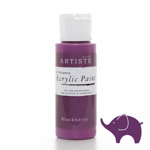 Blackberry - Artiste Acrylic Paint 2oz