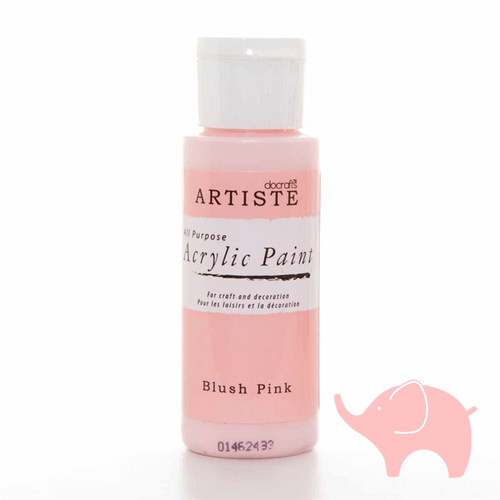 Blush Pink - Artiste Acrylic Paint 2oz