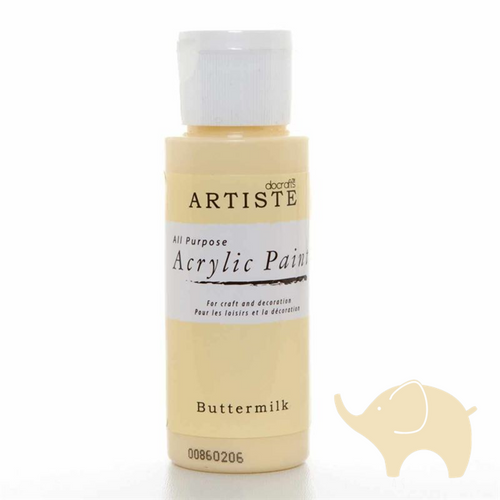 Buttermilk - Artiste Acrylic Paint 2oz