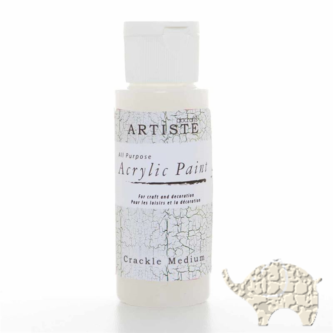 Crackle Medium - Artiste Acrylic Paint 2oz