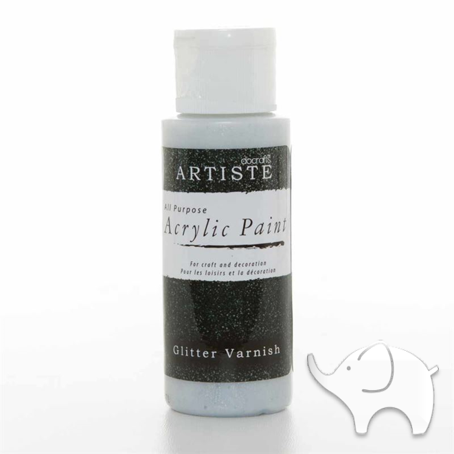Glitter Varnish - Artiste Medium 2oz