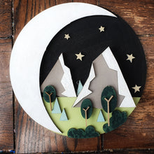 HC016 - MDF Graphic Mountains - Set of 3 Kits