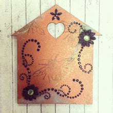 HC012 - MDF Whimsical Houses and Tag