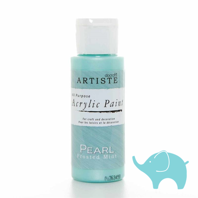 Pearl Frosted Mint - Artiste Medium 2oz