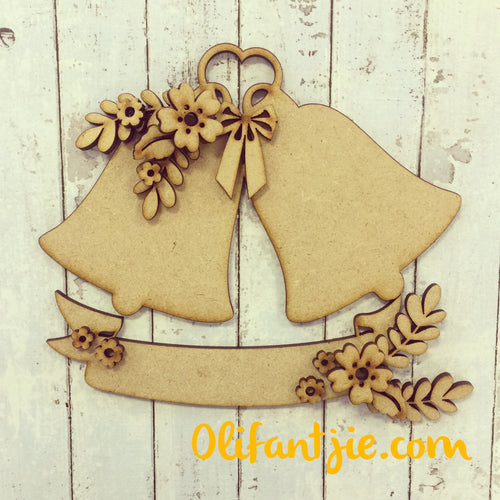 OL234 - MDF Wedding Bells Floral