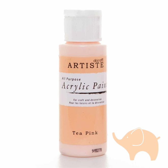 Tea Pink - Artiste Acrylic Paint 2oz