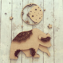 SJ062 - MDF Bear Moon Mandala Kit