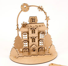 HC065 -  MDF Large Christmas Freestanding House