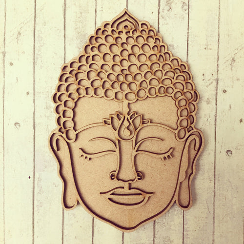 SJ123 - MDF Layered Buddha - Head