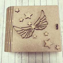 BX002 - MDF Angel Wing and Stars Box