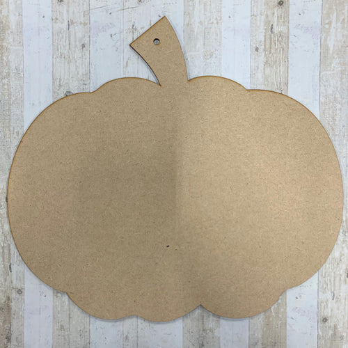 CH157 - MDF Giant Pumpkin Hanging - Traditional