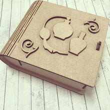 BX001 - MDF Perfume Bottle Box - Olifantjie - Wooden - MDF - Lasercut - Blank - Craft - Kit - Mixed Media - UK