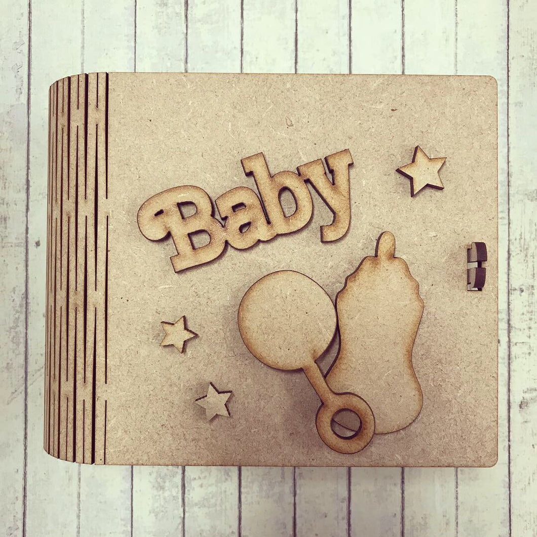BX009 - MDF Baby Themed Box