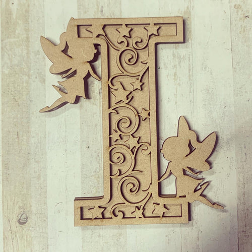 DL004 - MDF Fairy Themed Layered Letter