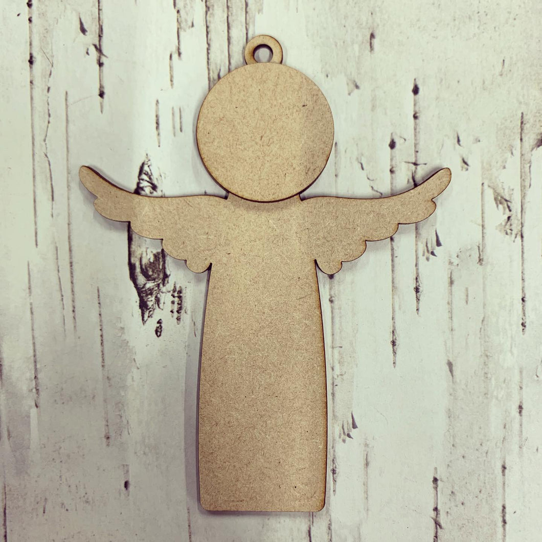 CH174 - MDF Straight Angel / Fairy Bauble - Hanging Style 2