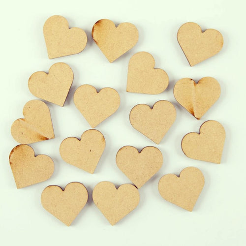 AO003 - 16 - 3cm Hearts - no hole