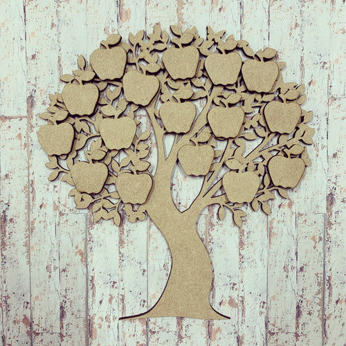 OL296 - MDF Family Tree with Apples