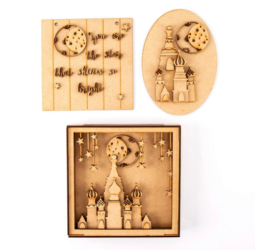 Temple - Set 3 MDF Kits