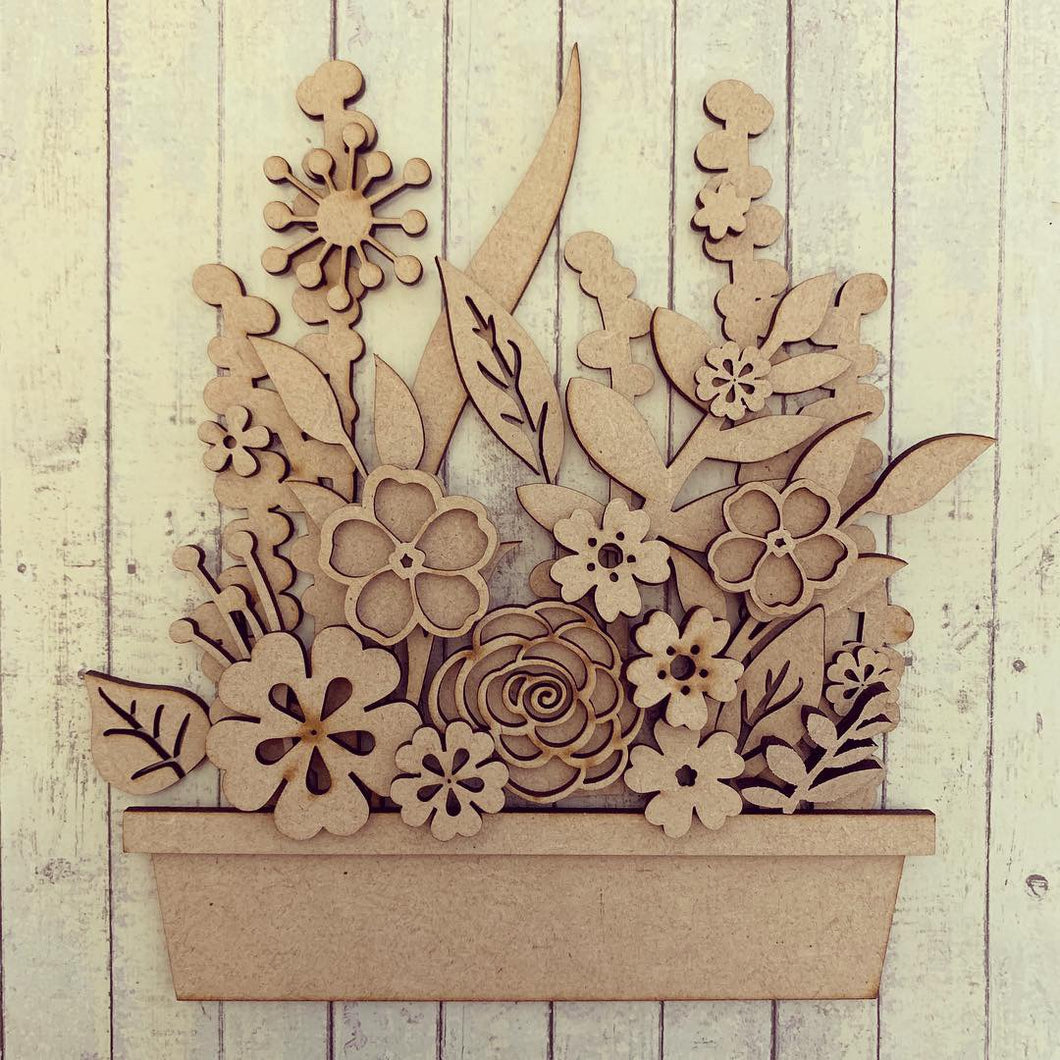 OL289 - MDF Full Flower Box Kit