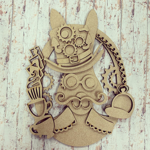 SJ151 - MDF Crazy White Rabbit Madhatter Steampunk Kit