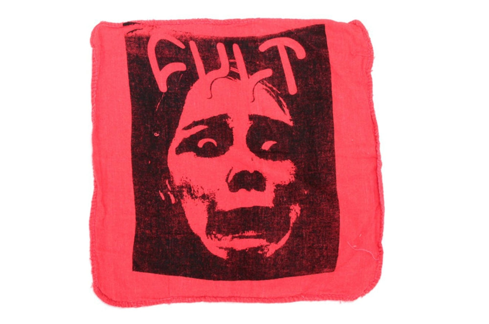 Cult Face logo shop rag